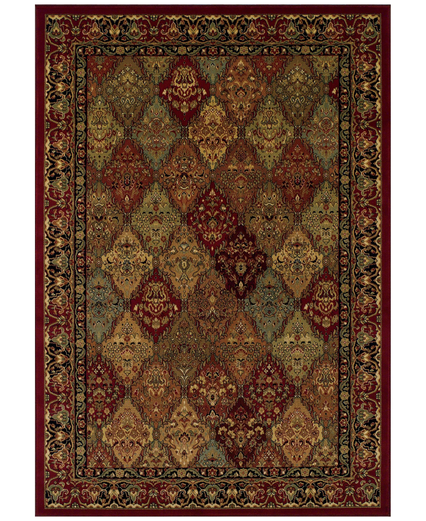 Closeout St Charles Wb38 Red 3 X 5 Area Rug Area Rugs Rugs