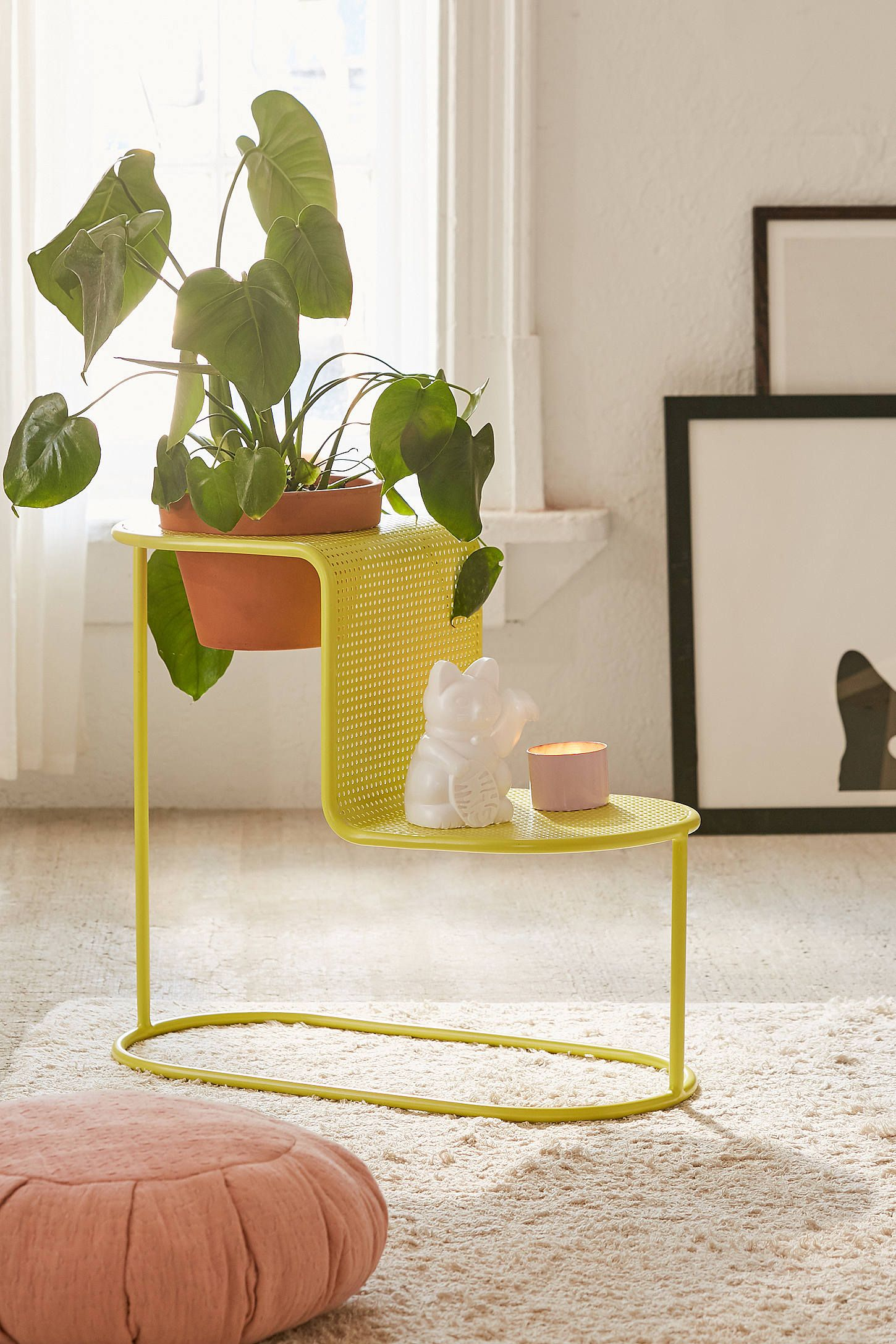 Leya plant stand side table in furniture pinterest table