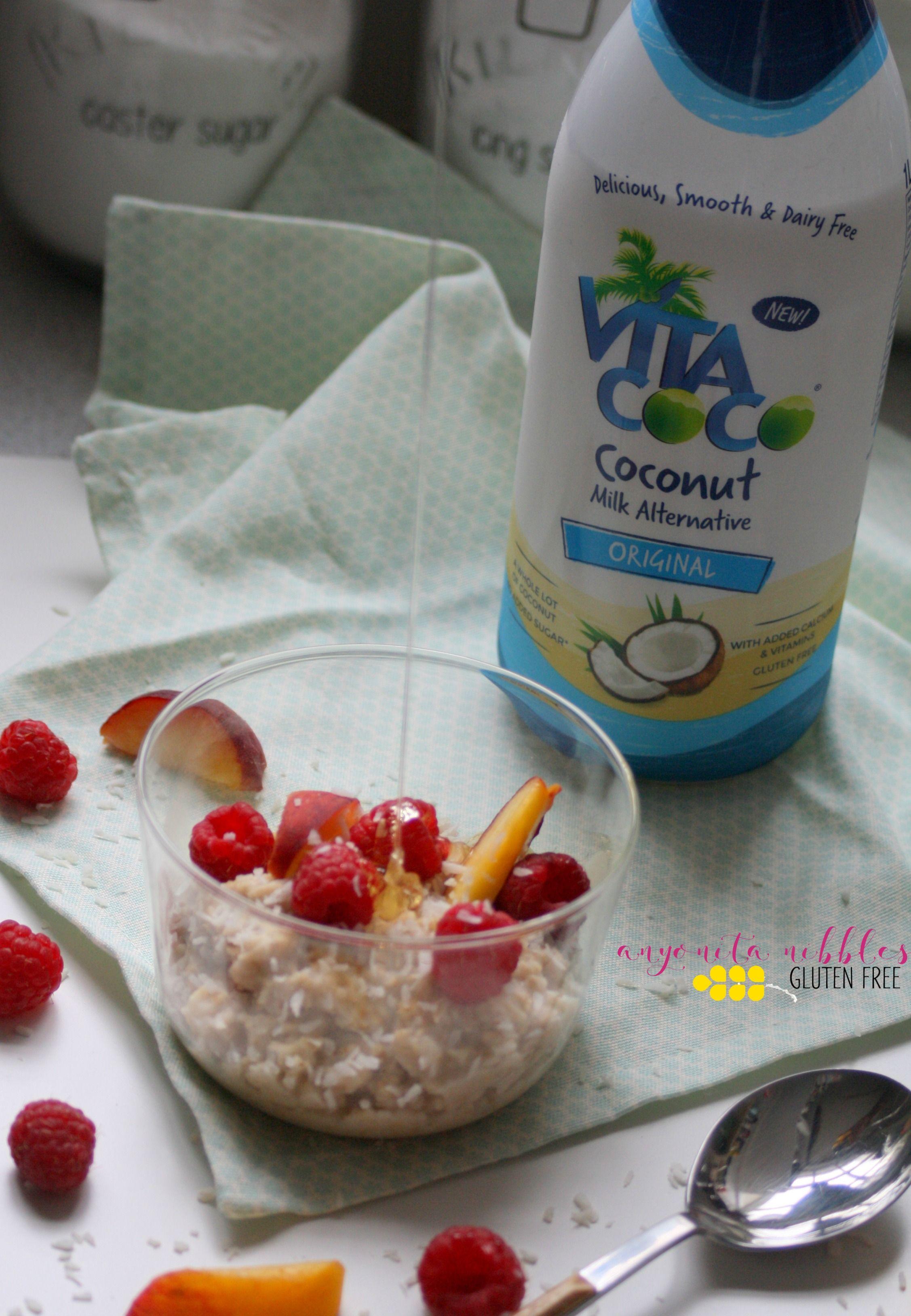 Gluten Free Dairy Free Coconut Milk Overnight Oats