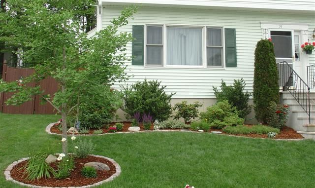 Easy Backyard Landscaping Ideas For Beginners In Square: This Looks Simple Enough To Do..my Doorstep Looks Like