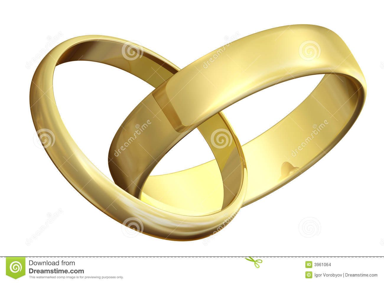 Hochzeit Ringe Lovely Zwei Ringe Der Goldenen Hochzeit Stock Abbildung Hochzeit Ringe Goldene Hochzeit Hochzeit