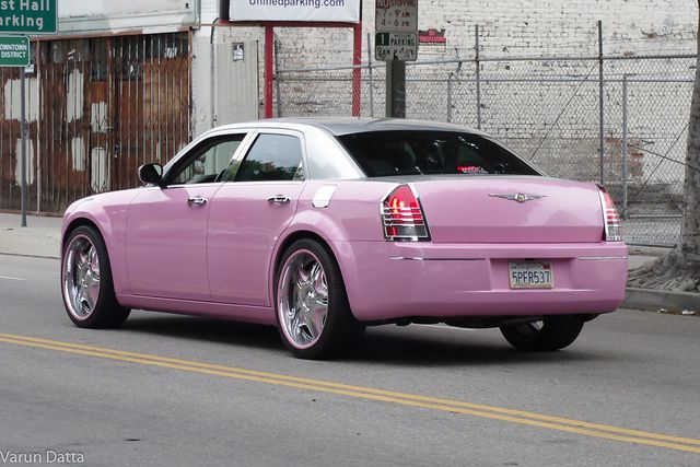 Pink Chrysler With Images Chrysler 300 Chrysler Chrysler 300c