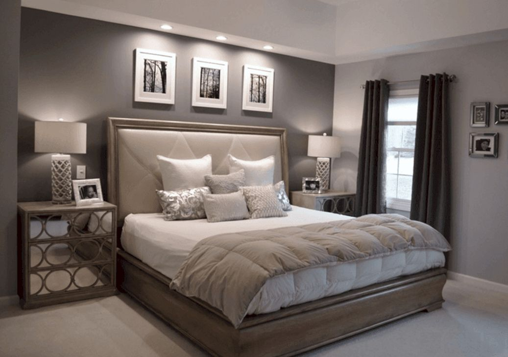 Awesome 46 Comfy Master Bedroom Ideas More At Https Homishome Com 2019 03 12 46 Com Modern Master Bedroom Design Modern Master Bedroom Master Bedroom Colors
