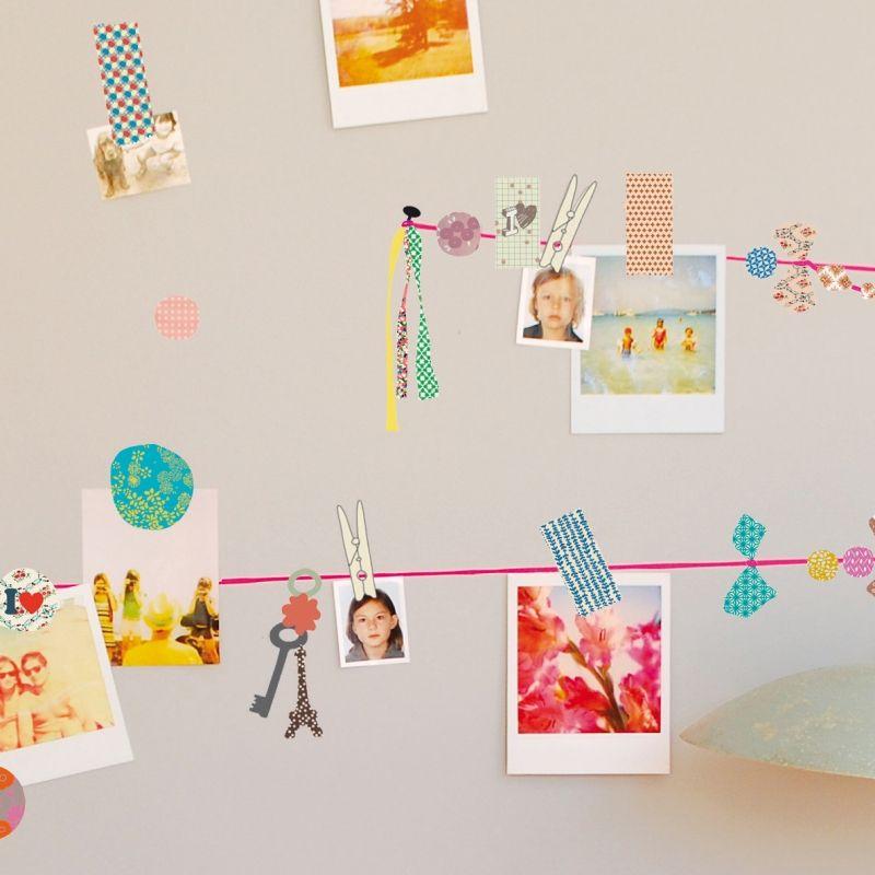 frise murale chambre b b ou enfant chambre vintage. Black Bedroom Furniture Sets. Home Design Ideas