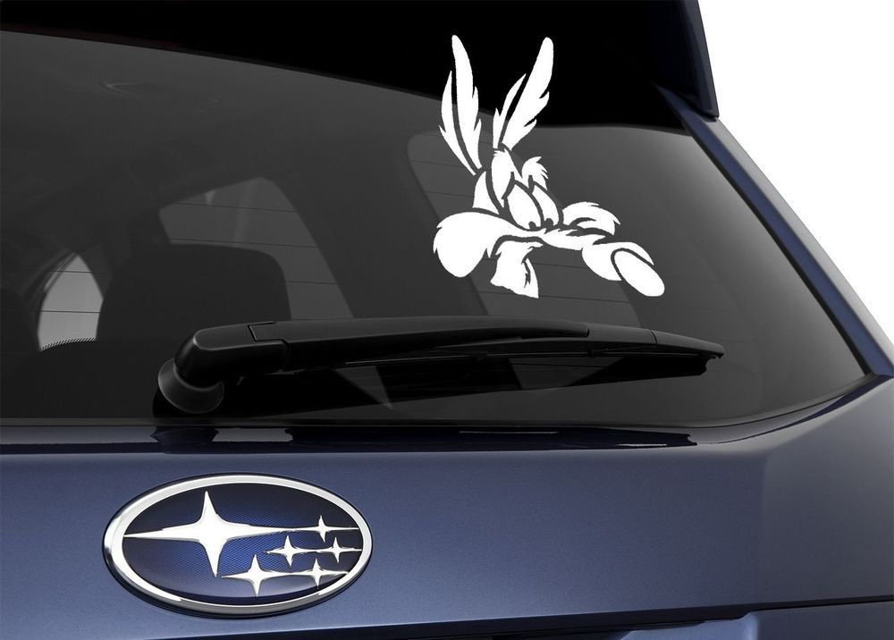 Wile E Coyote Car Decals