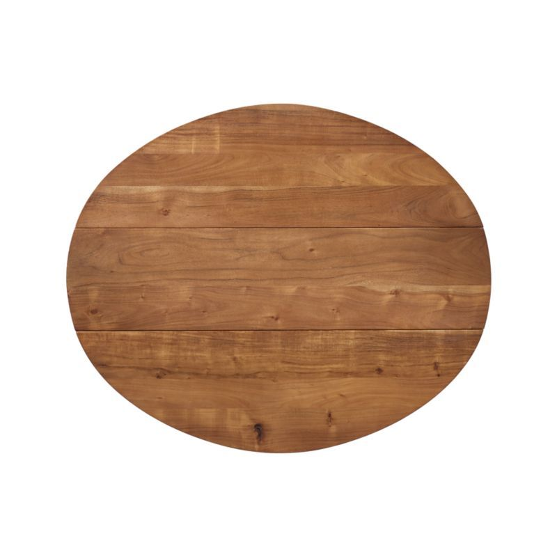 Origami Drop Leaf Oval Dining Table Dining Table Crate Barrel