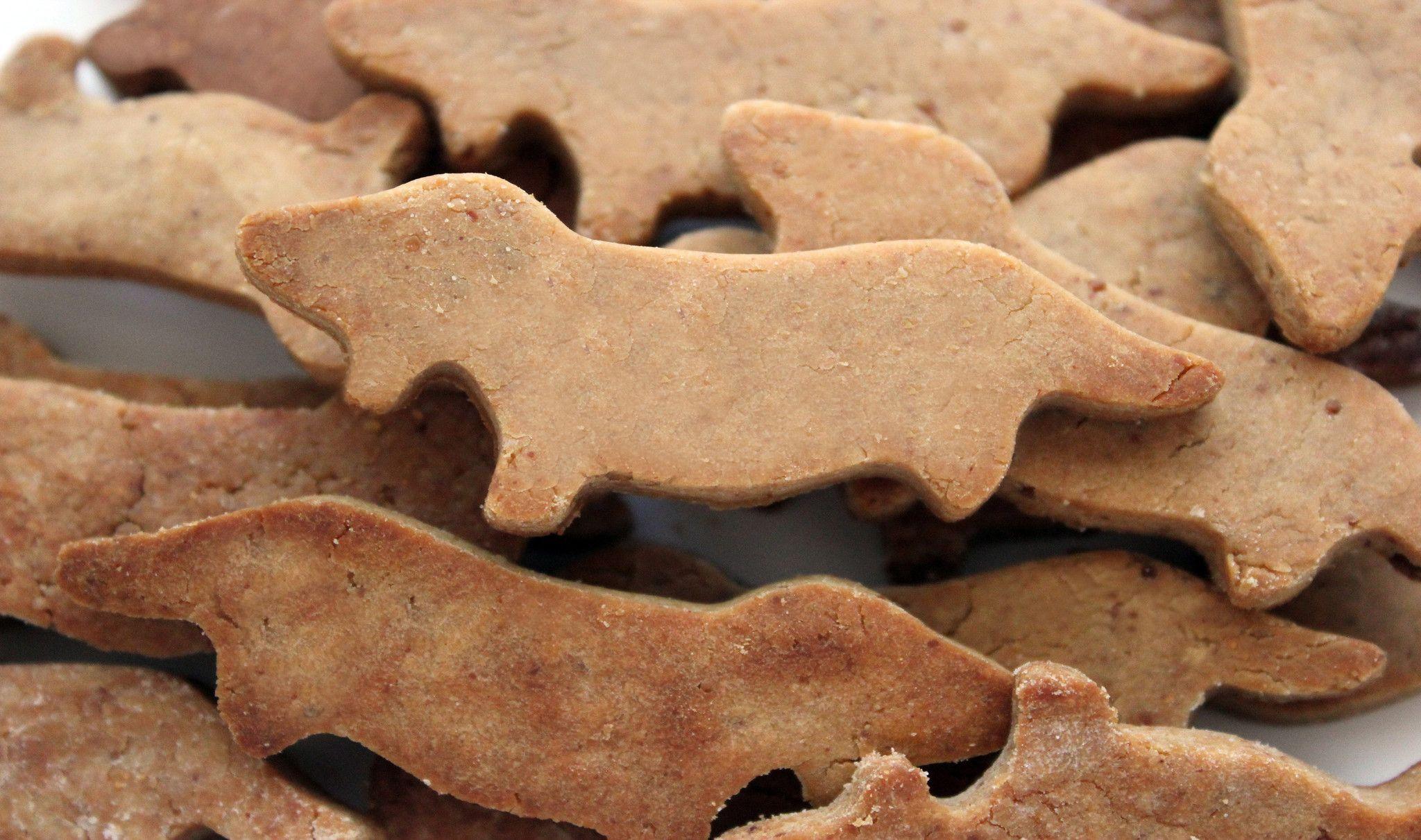 Gluten Free Peanut Butter Dachshund Dog Treats Grain Free Dog