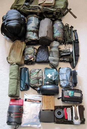 4 Real Life Examples Of Bug Out Bag Contents Survival Bag Survival Backpack Bug Out Bag Contents
