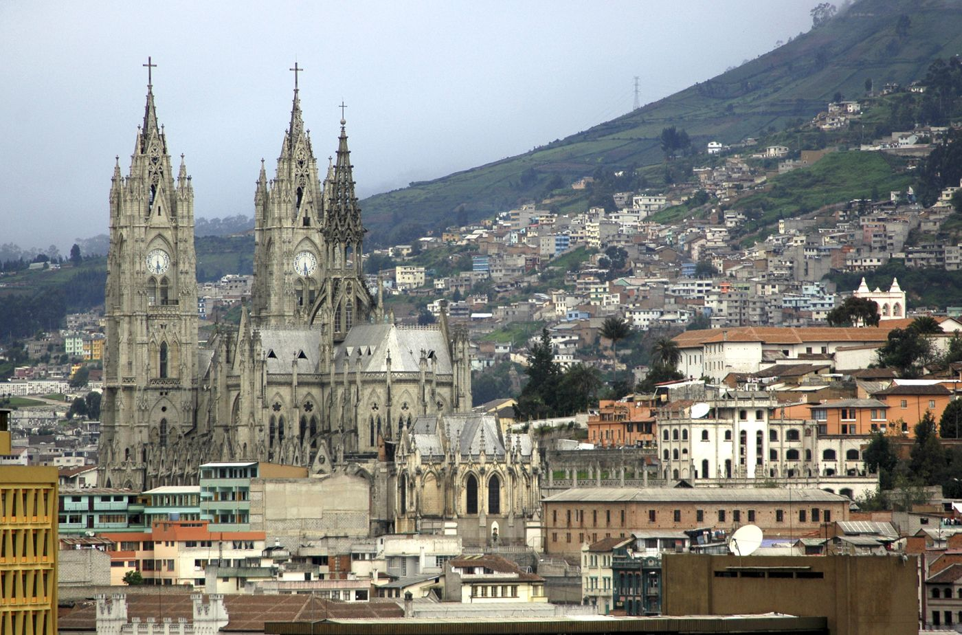 The Main Cathedral In Quito Called Basílica Del Voto Nacional - 12 cant miss sites in quito ecuador