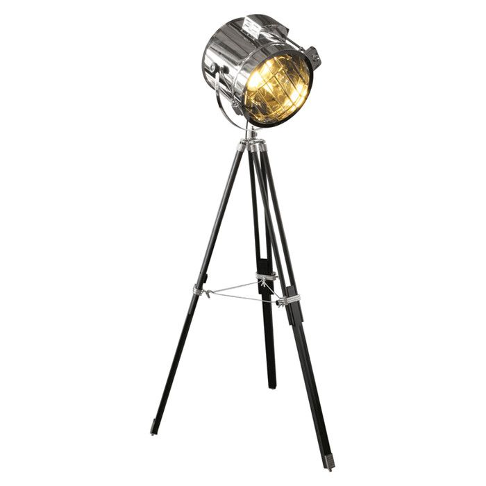 House Additions Hollywood Spotlight 164cm Tripod Floor Lamp