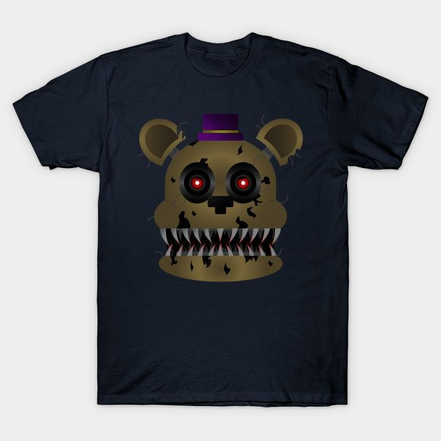 Fredbear (five Nights At Freddy's 4) - Mens T-Shirt