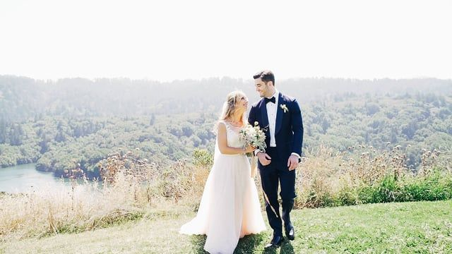 Amazing Wedding Video With Personal Vows Will Make You Cry Backyard Palo Alto