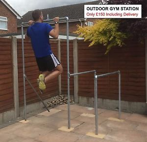 Outdoor Gym Station Pull Up Bar Chin Up Dips For Calisthenics Cross Fit Outdoor Gym Calisthenics Calisthenics Gym