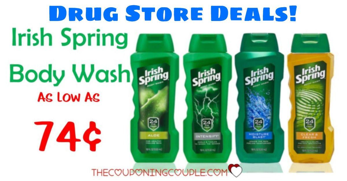CHEAP Irish Spring Body Wash As Low As 1.57 at CVS and