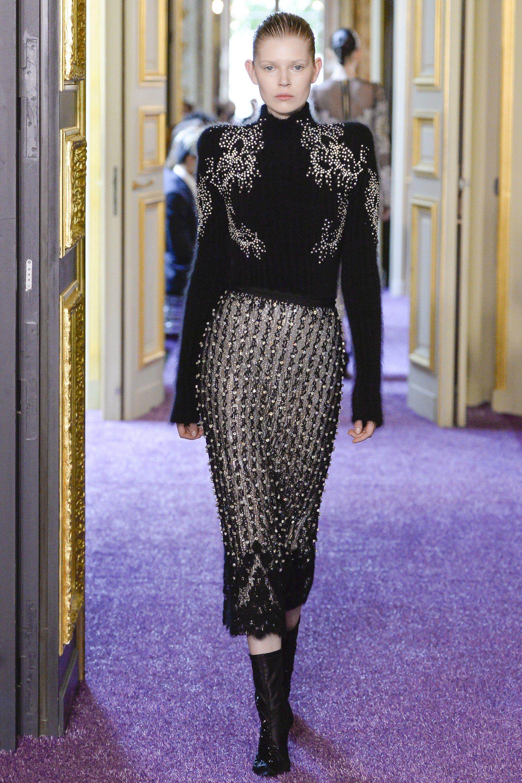 Francesco Scognamiglio Fall 2016 Couture Fashion Show - Ola Rudnicka