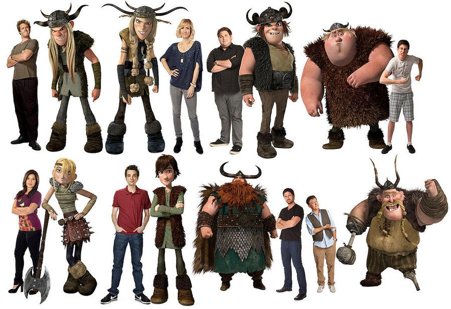 Httyd Characters Voiceactors By Rhodestwins On Deviantart How To Train Your Dragon How Train Your Dragon Httyd