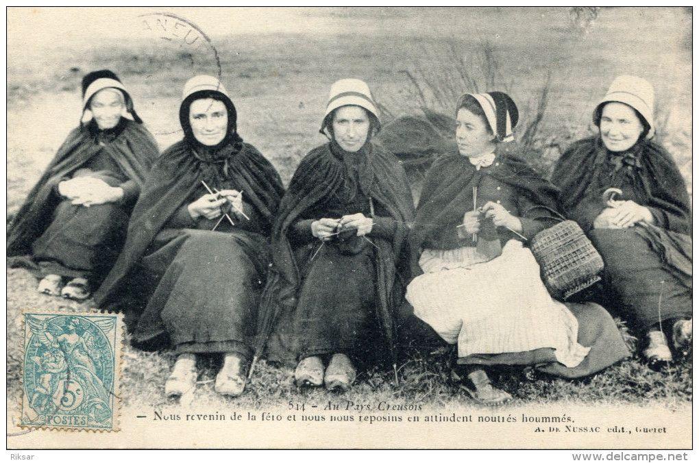 Creuse tricoteuse