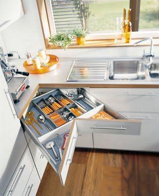 Storage Glee Corner Drawer Kitchen Remodel Small Corner Drawers Kitchen Design