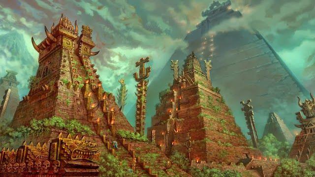Rezultat iskanja slik za Fantasy_art_aztec_lizard_men_1920x1080_19885