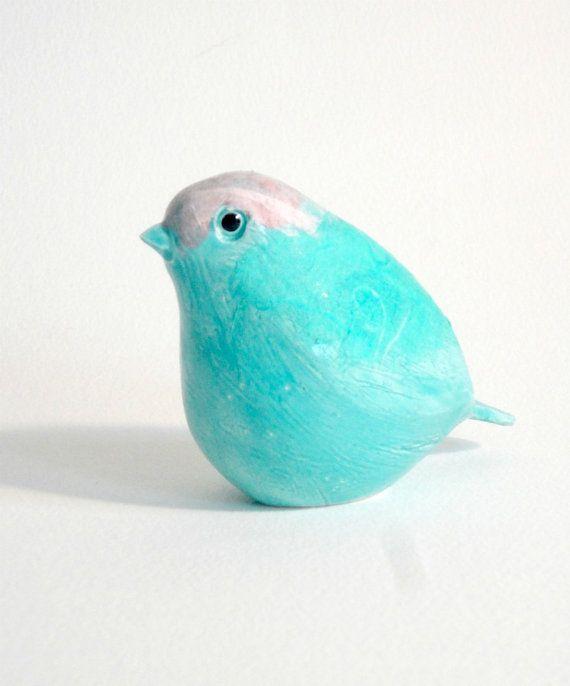 clay bird   by eco rock #aqua