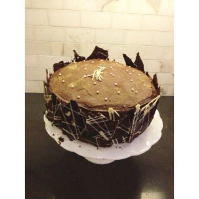 Custom chocolate cakes ready for order!