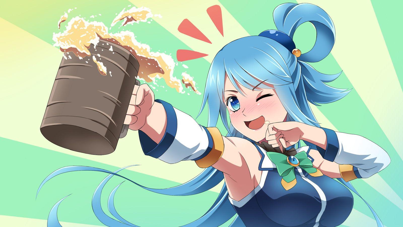 Anime Konosuba God S Blessing On This Wonderful World Aqua