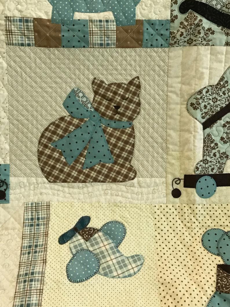 Baby Quilt Blue Heirloom Blue quilts, Quilts, Baby