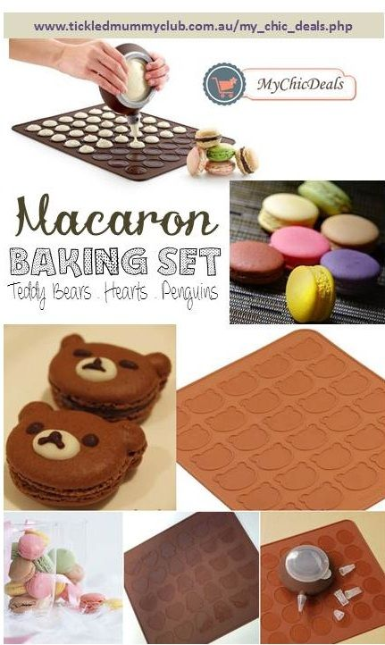 What About Macarons In The Shapes Of