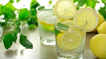 Minted Lemonade Recipe طريقة عمل عصير الليمون بالنعناع Lemon Health Benefits Warm Lemon Water Lemon Water Benefits