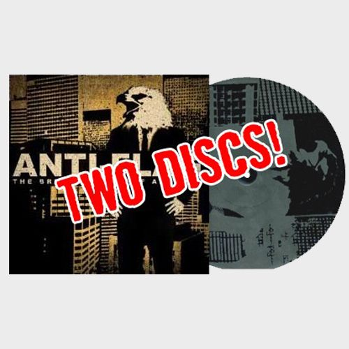 Anti Flag The Bright Lights Of America Lp Mp3 Anti Flag America Album Flag