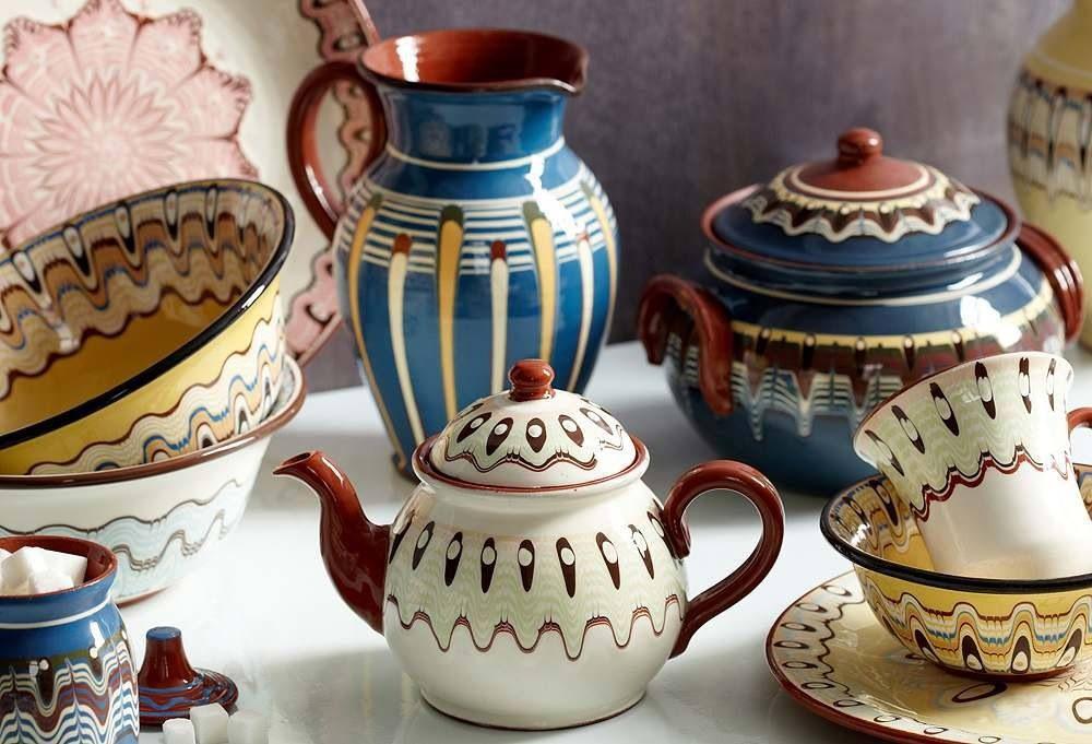 Handmade Bolivian Pottery Ceramic Painting Pottery Ceramics