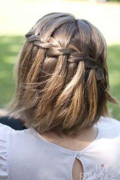 Schnelle Wiesn Flechtfrisur Für Kurze Haare Perfekt Eignet Sich Ein
