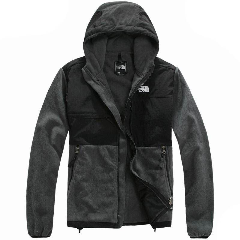 North face denali hoodie fleece jacket men's