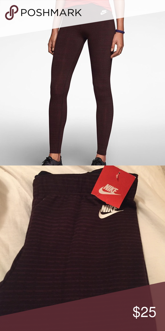 NWT Nike leg a see leggings NWT Nike leg a see running leggings Nike Pants Leggings