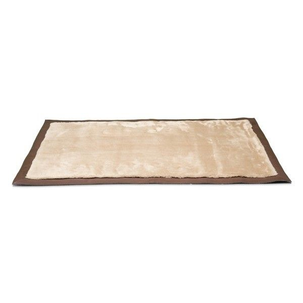 Ugg Australia Clic Leather Bound Rug 695 Liked On Polyvore Featuring