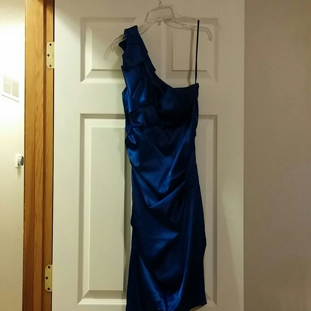 B darlin formal one shoulder dress products
