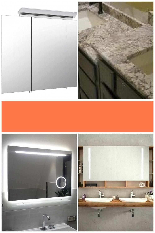 Badezimmer Spiegelschrank Ideen Badezimmer Spiegelschrank 80 Cm Breit In 2020 Lighted Bathroom Mirror Bathroom Mirror Bathroom Lighting