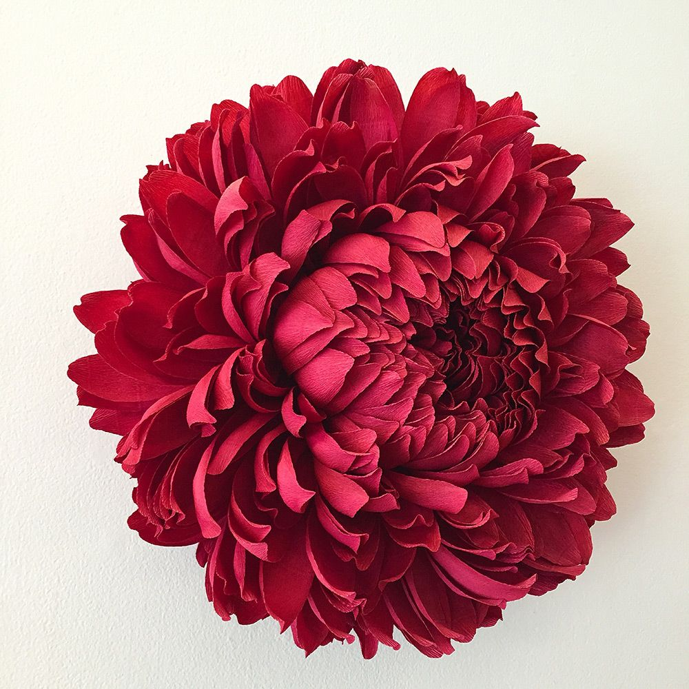 New Giant Paper Flower Sculptures By Tiffanie Turner Floral Art