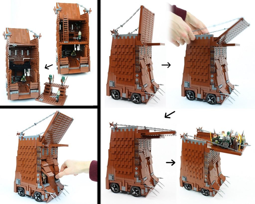Siege Tower Functions | by David FNJ