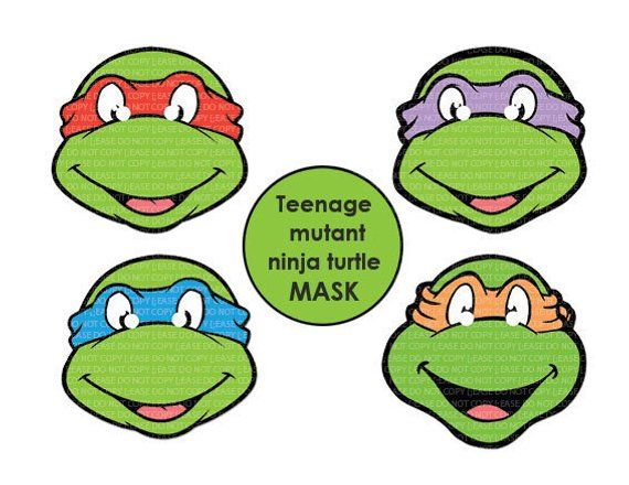 image about Ninja Turtle Printable named Pin upon Items