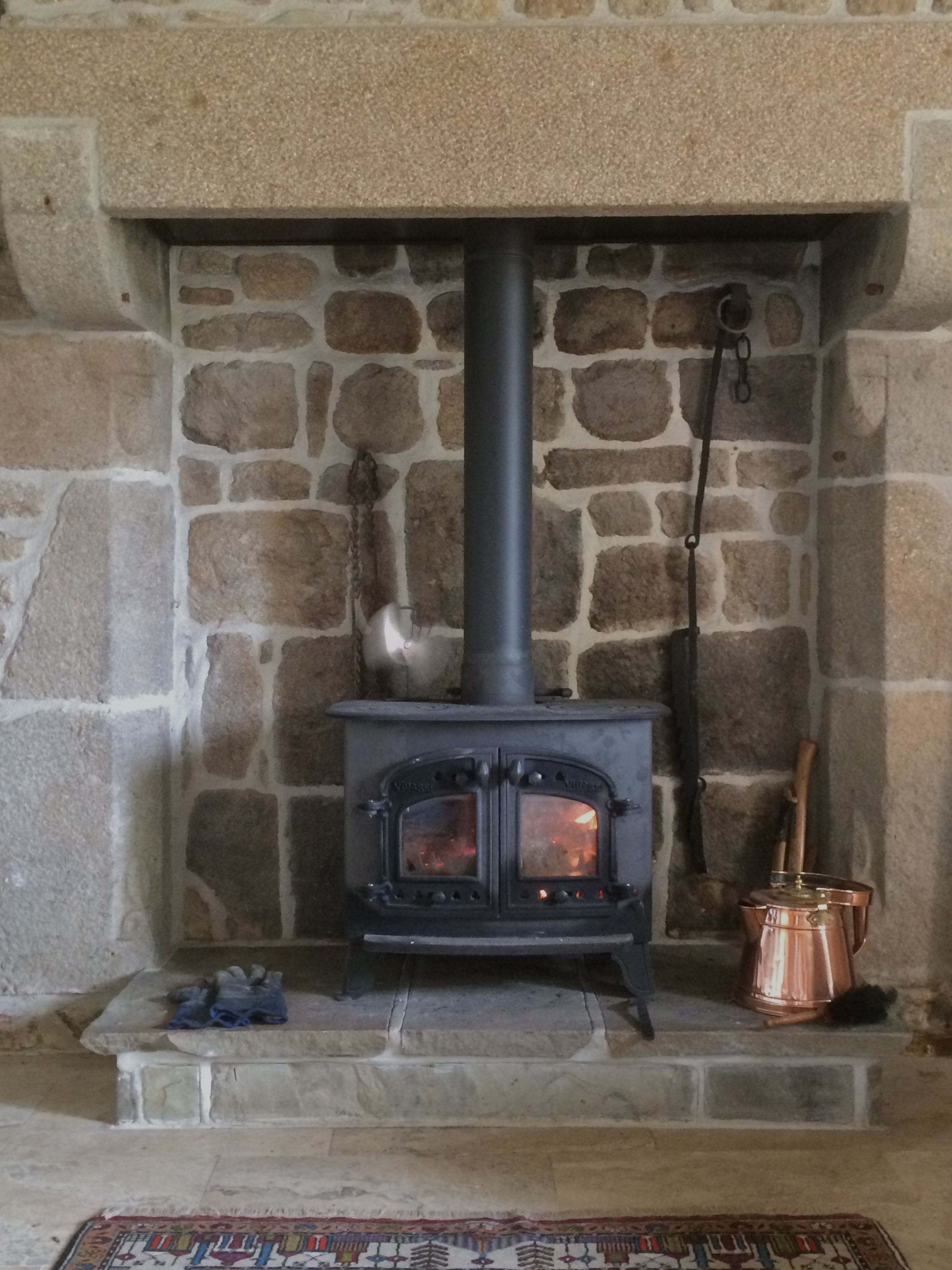 Old French Granite Fireplace My Style Pinterest Granite Fireplace And Granite