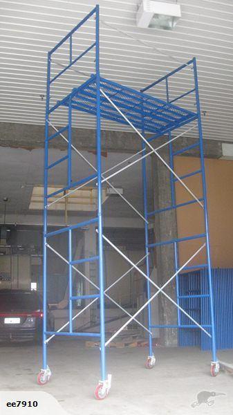 Mobile Scaffold Tower 4 6m Scaffolding Iron Decor City Design