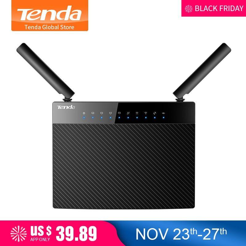 Tenda AC9 1200M Smart Dual-Band 802 11AC 2 4G/5GHz Gigabit Wireless