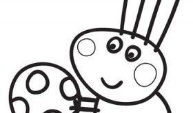 Pin En Colorea Coloring Page Peppa Pig
