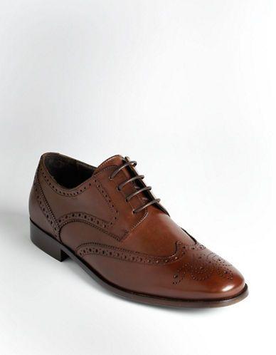 Men's | Shoes | Wingtip Leather Shoes