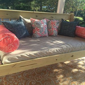 fitted outdoor daybed cover in twin