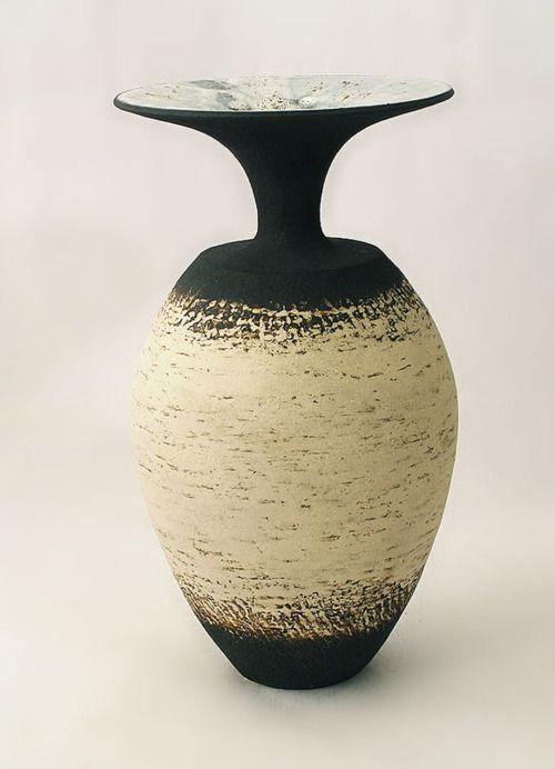 Waistel Cooper stoneware vase