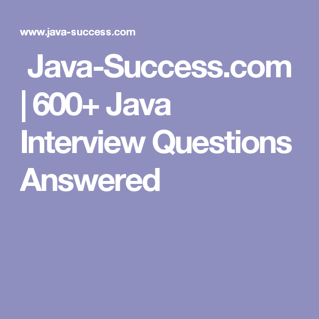 interview questions about success