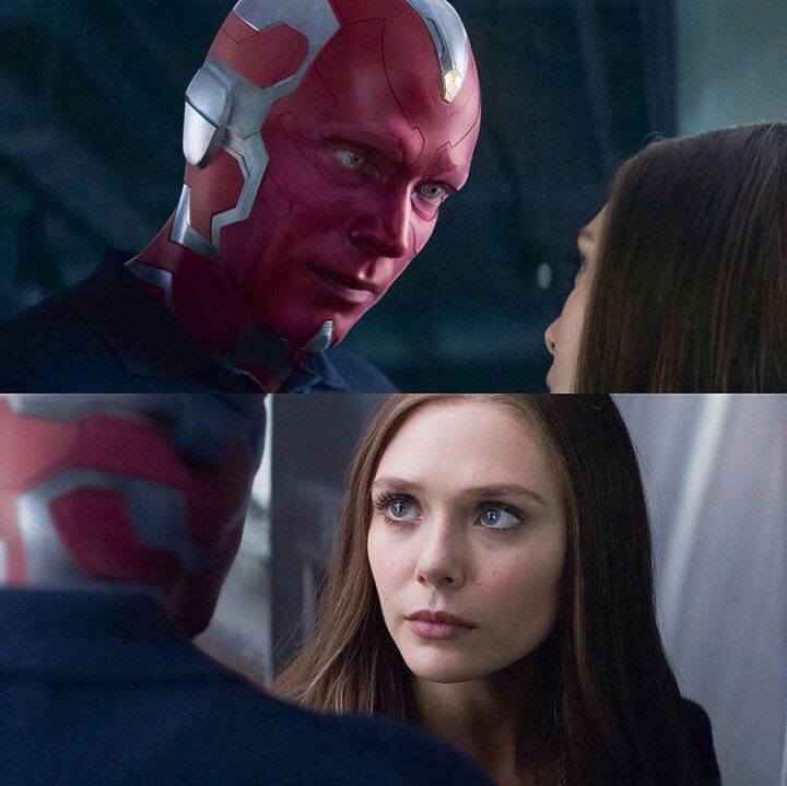 Wanda and Vision in Civil War | Marvel superheroes, Scarlet witch, Wanda  and vision