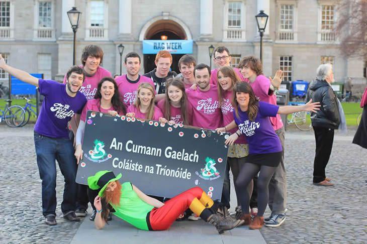 Students & the language - The Irish language in College - Irish
